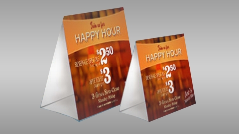 4 x 6 - Table Tents